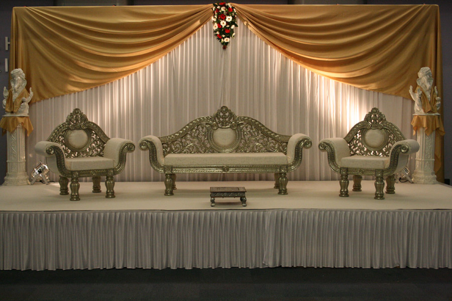Wedding Stage Stages Walima Chaise Chairs